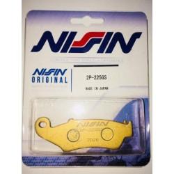 Pastilhas de Travão NISSIN Semi-Metálicas 2P225GS
