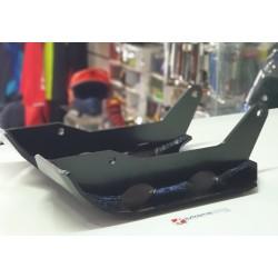 Proteção de Cremalheira e Disco em aço - Yamaha YFZ350 Banshee/Preta