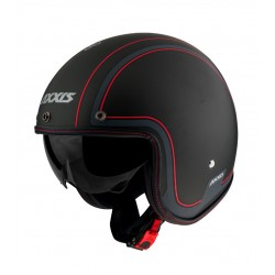 Capacete AXXIS OF507V Hornet SV Royal B1 - Preto Mate