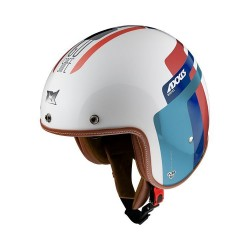 Capacete AXXIS Hornet Old Style A7 - Pérola/Azul