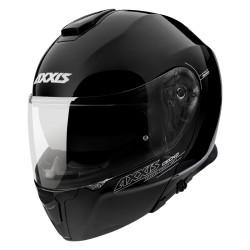 Capacete AXXIS FU403 SV Gecko Solid A1 - Preto