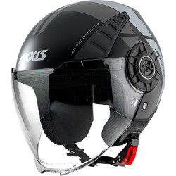 Capacete AXXIS MT-OF513 Metro Solid A1 - Preto