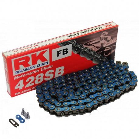 Corrente RK 428 SB com134 elos - Azul