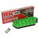 Corrente RK 428 SB com134 elos - Verde
