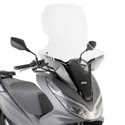 Vidro Alto Transparente Givi - Honda PCX 125 - 2018 a 2020