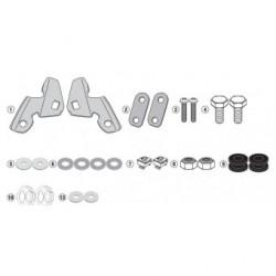 Kit de montagem para Vidro Alto Transparente Givi - Honda PCX 125 - 2018 a 2020