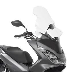 Vidro mais alto Givi Para Honda PCX 125 de 2014 a 2017