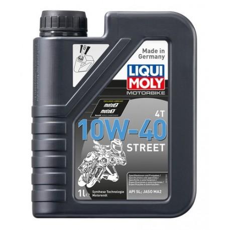 Oleo Liqui Moly 10w-40 4T Street Sintético