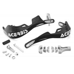 Proteção de mãos com kit montagem Acerbis Rally Pro Supermoto - Preto