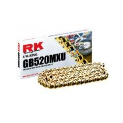 Corrente RK 520 XSO X-RING Cinza - 116 elos