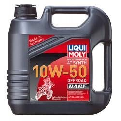 Oleo Liqui Moly 10w-50 4T Sintético Offroad - 1 Litro