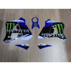 Kit de Autocolantes Yamaha DTR 125 Hpires - Monster