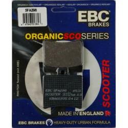 Pastilhas de travão EBC SFA298 - Organicas