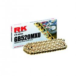 Corrente RK 520 MXU UW-RING Dourada - 118 elos