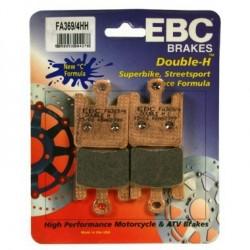 Pastilha de travão EBC DBL H FA-HH Series
