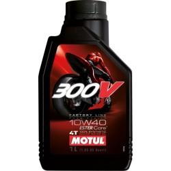Oleo de Motor Motul 300v FL Road Racing 10w40 - 1L