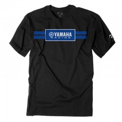 Tshirt Factory Effex Yamaha Stripes Preta
