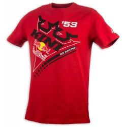 Tshirt Kini Red Bull Ribbon Vermelho