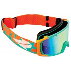 Goggles Swaps Verdes com lente espelhada Cinza