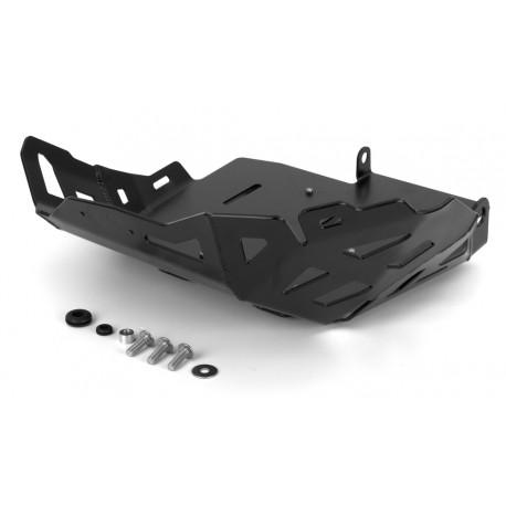 Proteção de motor em Aluminio Preto - Honda Africa Twin CRF1000L