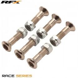 Kit de Porca e Parafuso p/ Cremalheira RFX Race (6pcs)