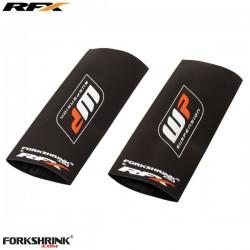 Proteção Suspensão RFX Race Series WP logo (White/Orange) Universal 125cc-525cc