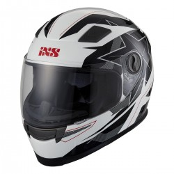 Capacete Integral IXS 135 KID 2.0 white-black-red