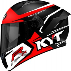 Capacete KYT NF-R Track Red
