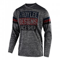 Jersey TLD GP ElSinore Gray Heather/Navy