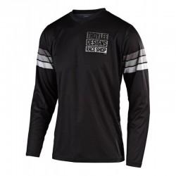Jersey TLD GP SaddleBack Black/Grey