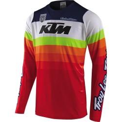 Jersey TLD SE PRO KTM Mirage White/Red