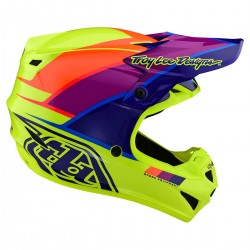 Capacete TLD SE4 ECE PolyAcrylite BETA Yellow/Purple