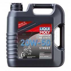 Oleo LIQUI MOLY MOTORBIKE 4T HD SYNTH 20W50 (4L)