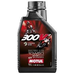 Oleo de Motor Motul 300V2 4T FACTORY LINE 10w50 - 1 litro
