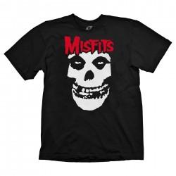 Tshirt One Misfits Preta
