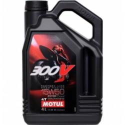 Oleo Motul 300V Road Racing 15w50 - 4 litros
