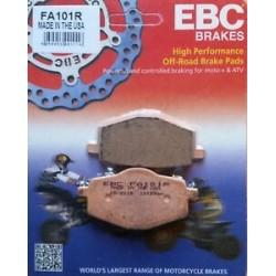 Pastilhas de travão EBC Sinterizadas FA101R