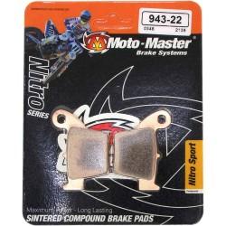 Pastilhas de Travão Moto Master Sinterizada - Honda CRF Trás