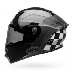Capacete Bell Star DLX LUX CHECKERS