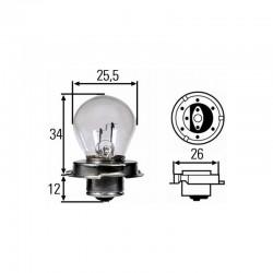 Lâmpada Tecnium 12V15W P26S
